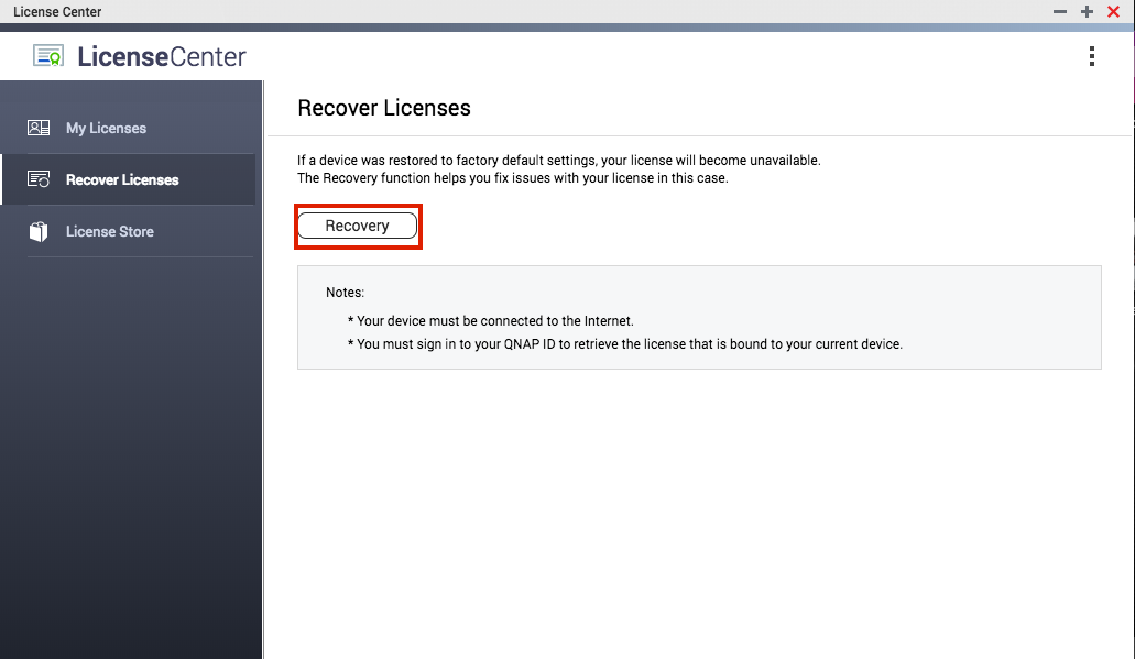 How to install license keys on a QNAP NAS | QNAP (US)