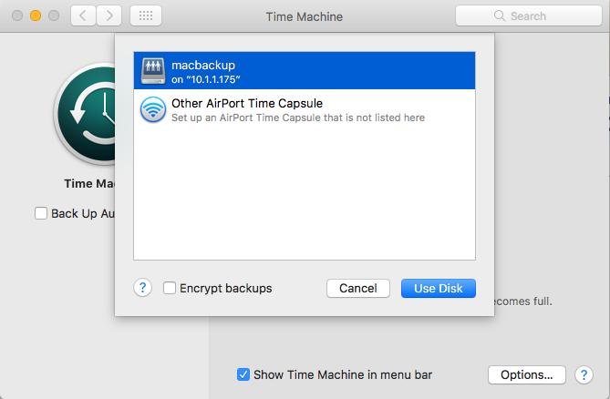 Using Time Machine to Back Up your Mac to a QNAP NAS via SMB | QNAP