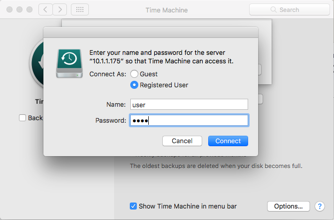 Using Time Machine to Back Up your Mac to a QNAP NAS via SMB | QNAP
