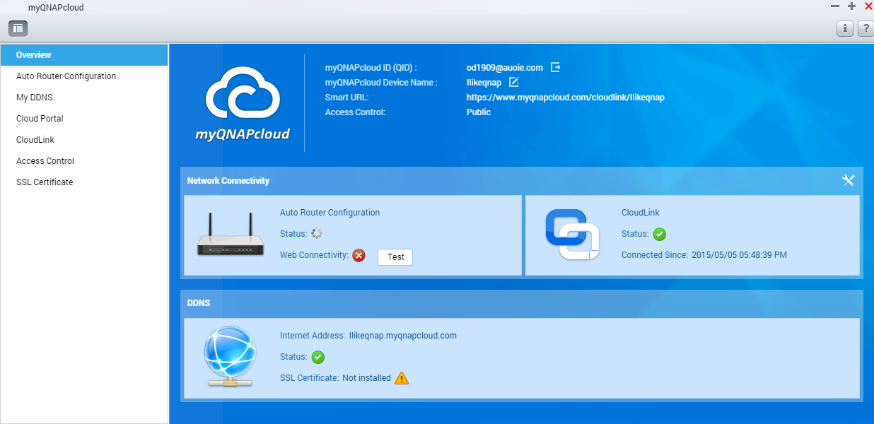 Accessing your QNAP device with myQNAPcloud service | QNAP (US)