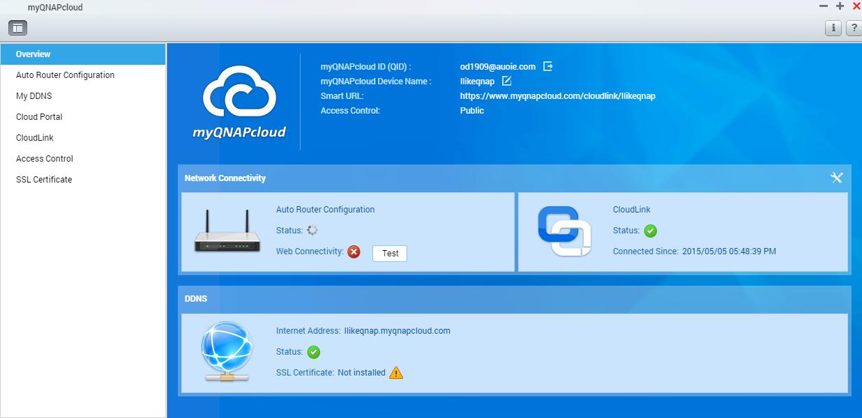 Accessing your QNAP device with myQNAPcloud service | QNAP (US)