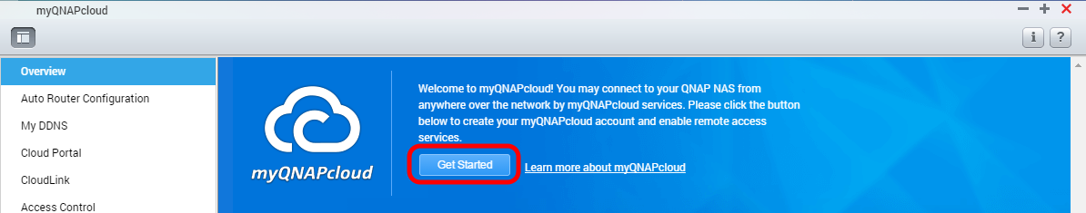 Accessing your QNAP device with myQNAPcloud service | QNAP