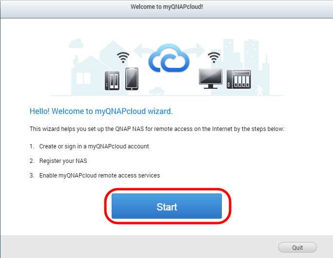 Accessing your QNAP device with myQNAPcloud service | QNAP