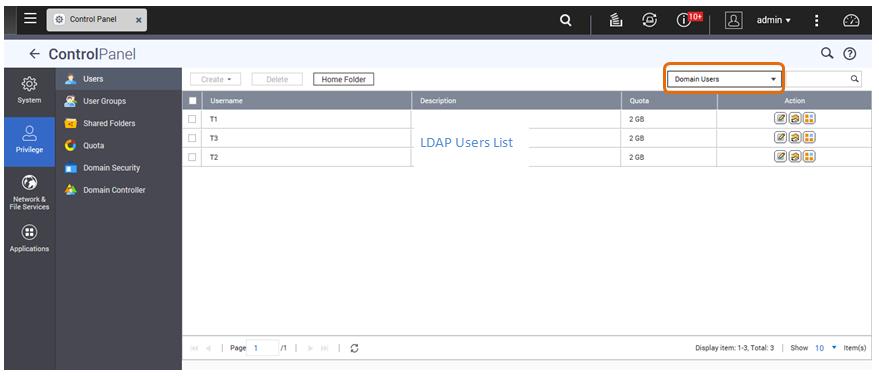 Connecting a QNAP NAS to an LDAP Directory | QNAP