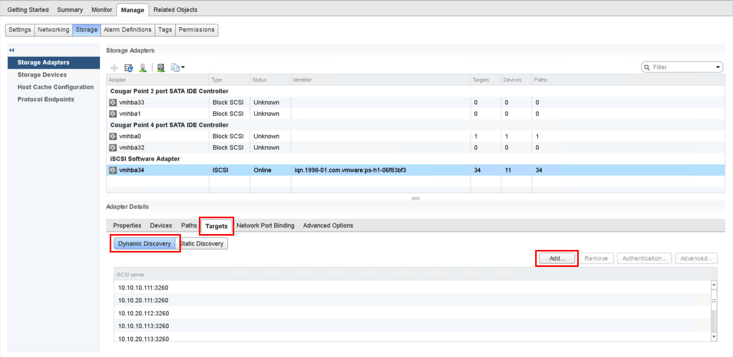 Set up a VMmare ESXi Datastore via iSCSI in QNAP Enterprise