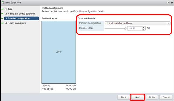 Set up a VMmare ESXi Datastore via iSCSI in QNAP Enterprise Storage