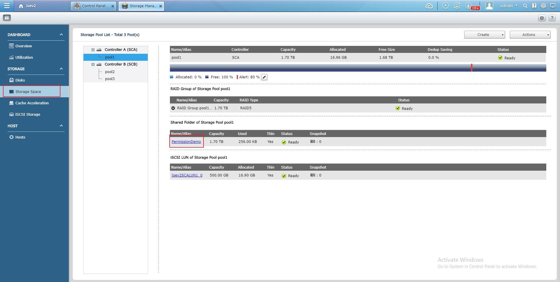Configuring Microsoft Windows Shared Folder Permissions in