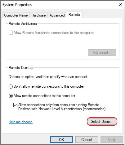 Configuring Microsoft Windows Shared Folder Permissions in QES