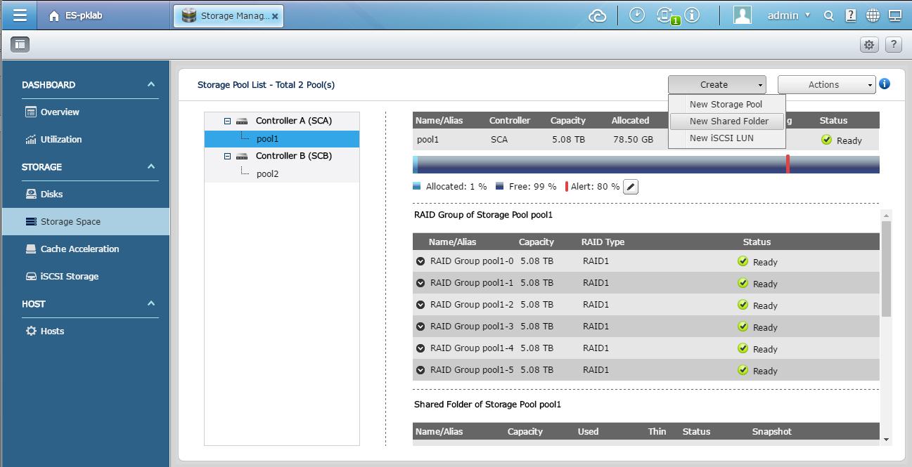Configuring Linux NFS Storage with QNAP ES NAS | QNAP (US)