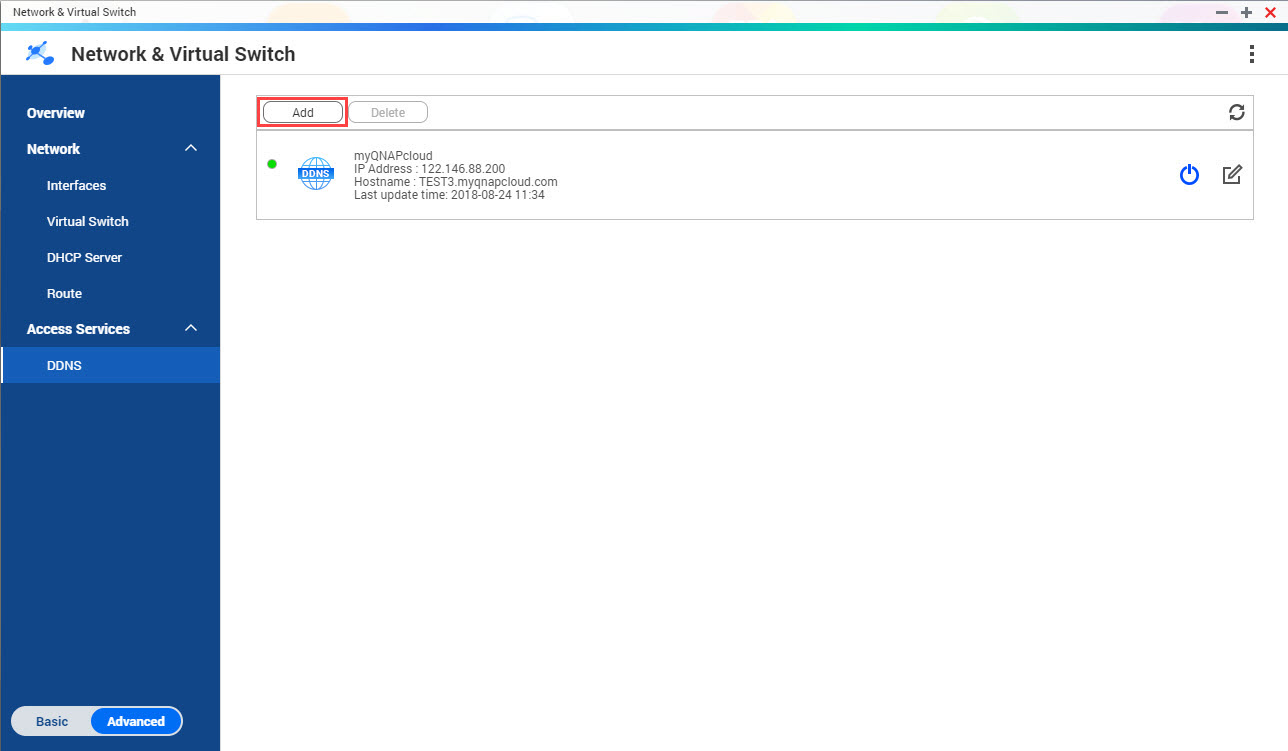 How To Use And Set Up Your Network Virtual Switch Qnap In Vnvs Rear Power Window Switchesdiagram2jpg The Ddns Add Opens
