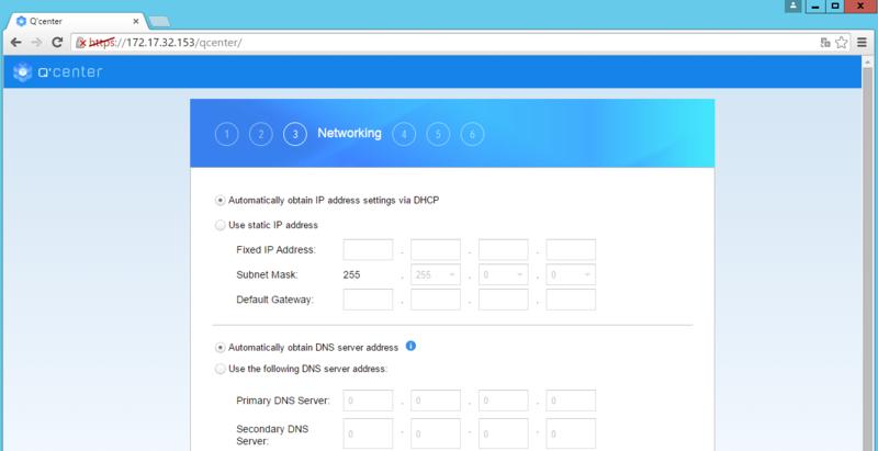 Deploy Q'center Virtual Appliance in Virtual Environments   QNAP