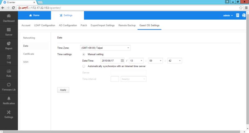 Deploy Q'center Virtual Appliance in Virtual Environments | QNAP