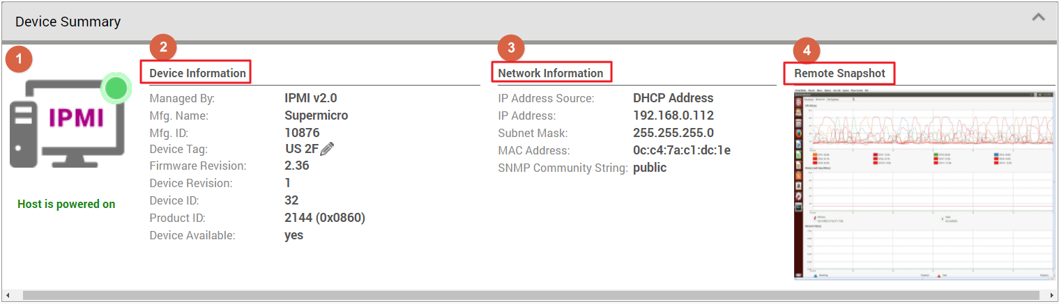 How to use IPMI Single Device Dashboard? | QNAP (US)