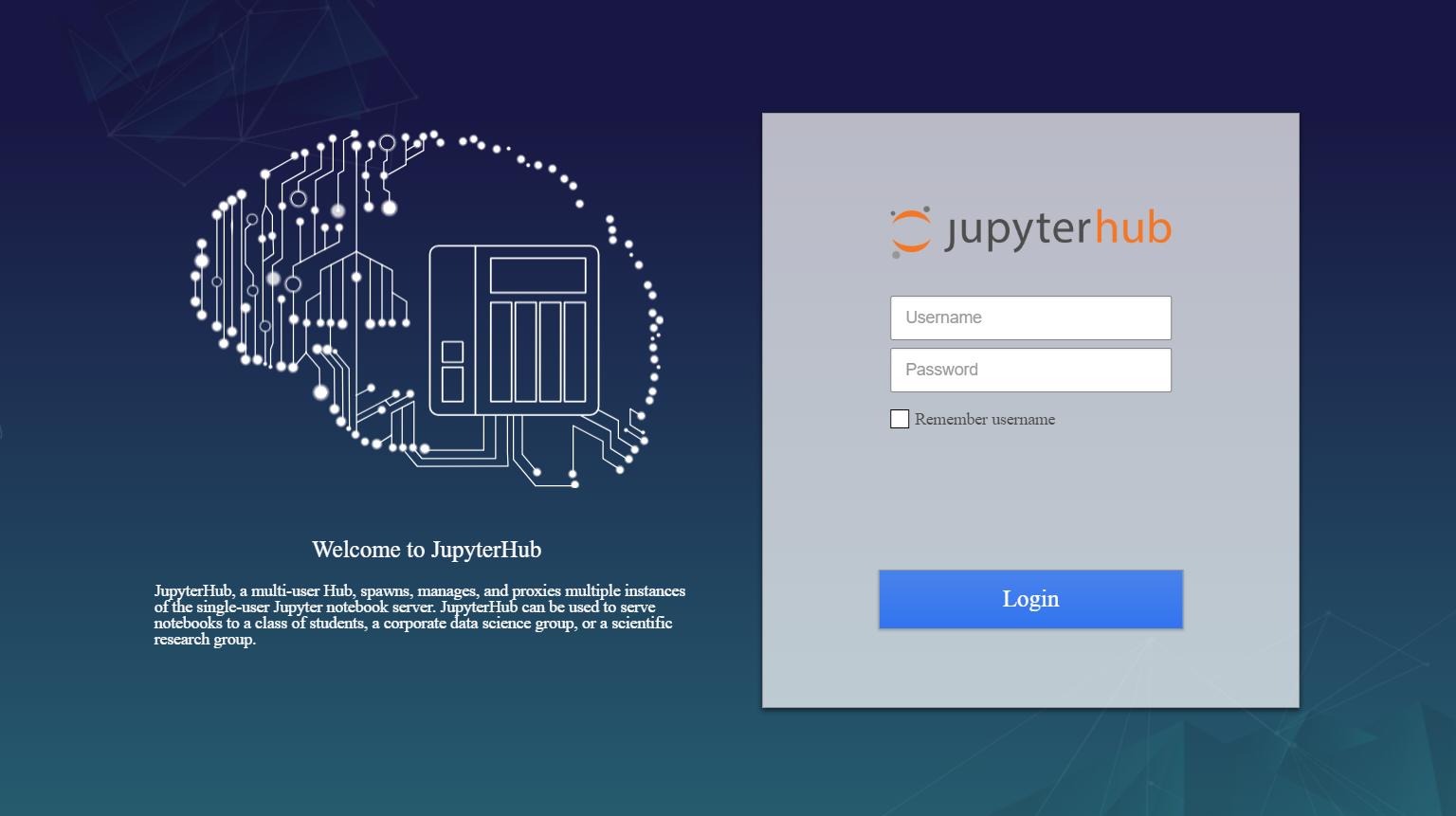 How to use Jupyter Notebook via JupyterHub | QNAP (AU)