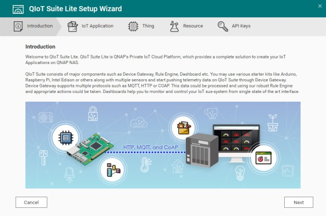 Connect Raspberry Pi to QNAP NAS via QIoT Suite Lite | QNAP