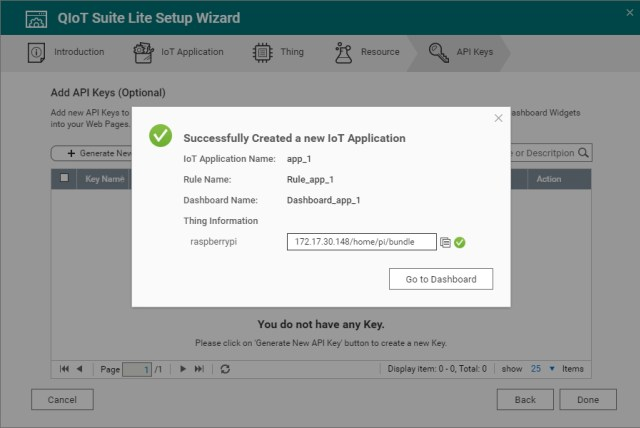 Raspberry Pi mit QNAP NAS über QIoT Suite Lite verbinden - QNAP