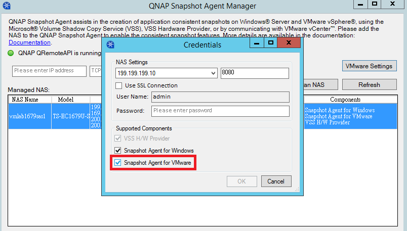 Qnap Smb Solution Using Qnap Snapshot And Snapshot Agent