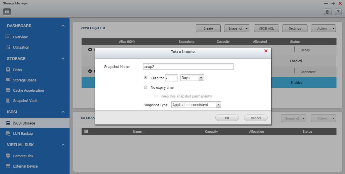 QNAP SMB Solution - Using QNAP Snapshot and Snapshot Agent