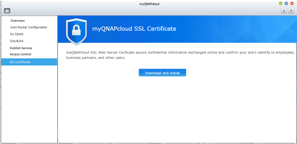 How To Purchase And Use Myqnapcloud Ssl Certificates Qnap Us