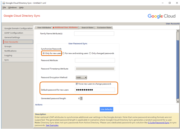 How to sync LDAP data on QNAP QTS NAS to Google Apps Directory Sync