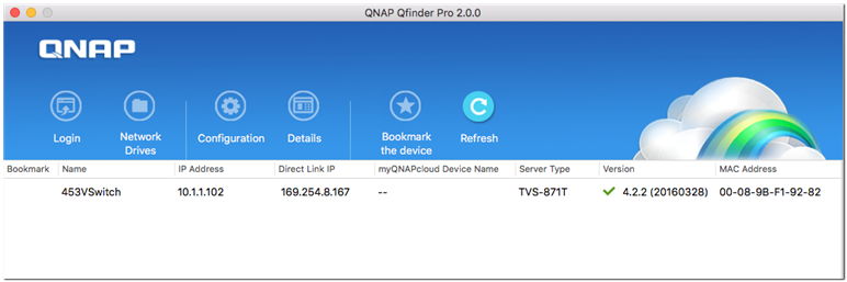 Using a QNAP Thunderbolt NAS to set up a high-speed file