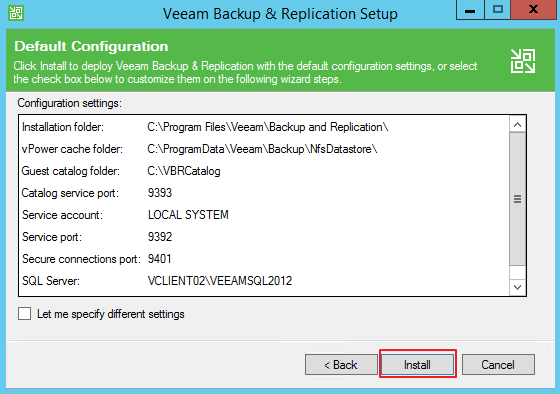 QNAP ES NAS Backup using Veeam Backup & Replication   QNAP