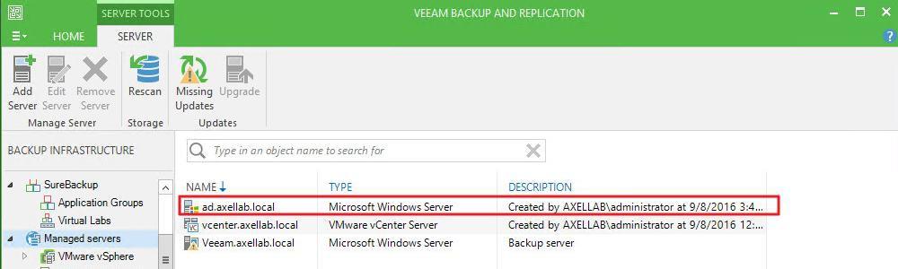 QNAP ES NAS Backup using Veeam Backup & Replication | QNAP