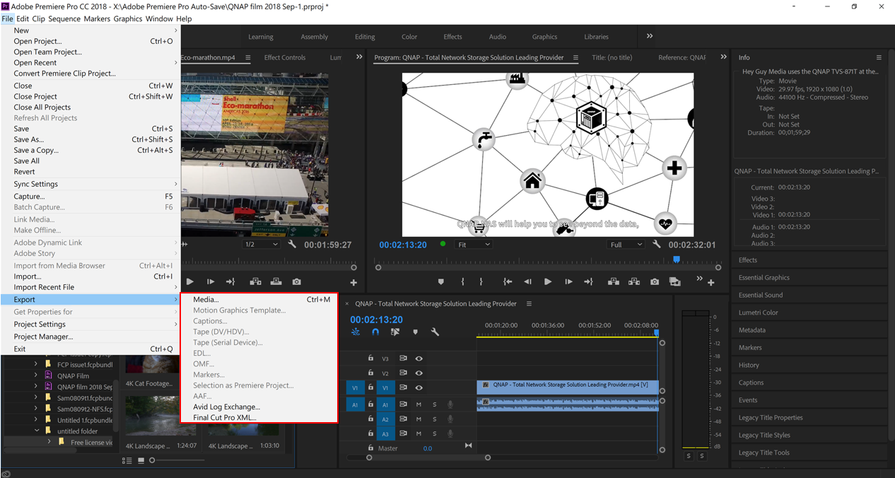 How to Build a High-speed Media Editing Environment for Adobe