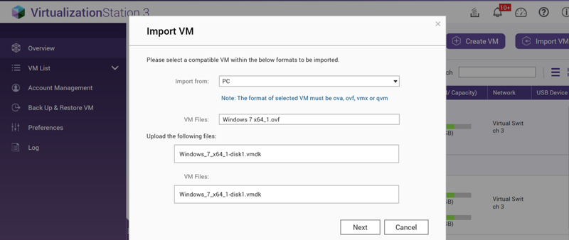 How to transform a physical machine to a virtual machine for