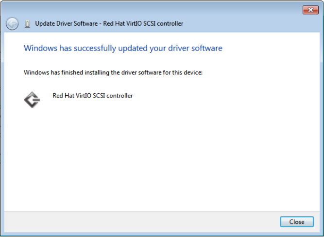How to set up a disk using the VirtIO controller to boost I