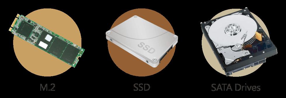 Qtier SSD