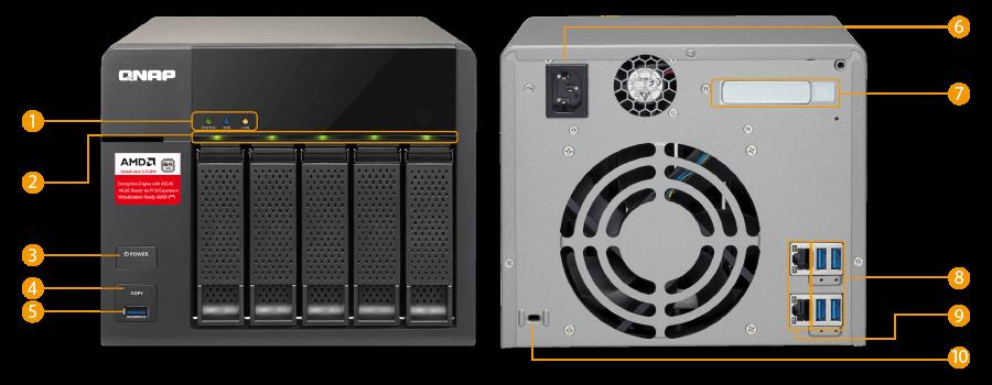 QNAP Hardware Spec