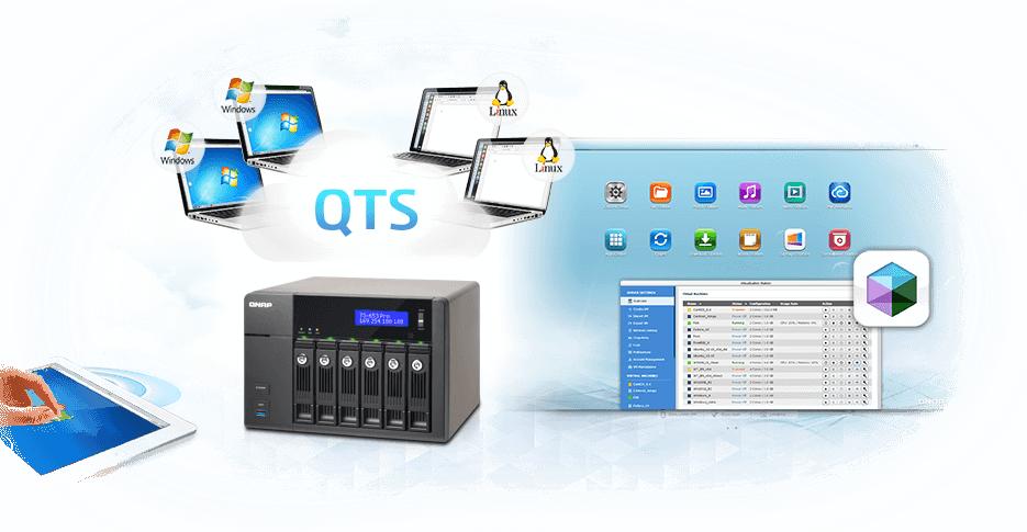 QNAP TS-653 TurboNAS QTS Treiber Windows 7