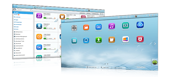 QNAP Install-on-demand