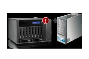 QNAP TS-879U-RP 26TB HYBRID (6X4TB) 4TB ENTERPRISE AND (2X1TB) SSD 8-BAY 2U  NAS SERVER
