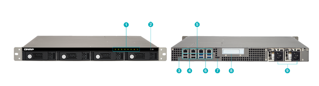 QNAP Hardware Spec TVS 471U-RP