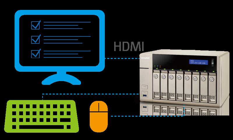 QNAP Easy system installation