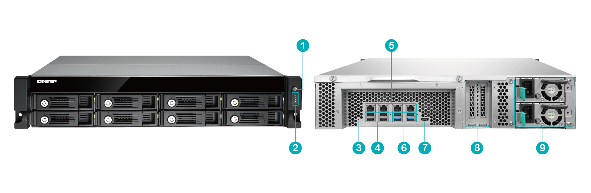 QNAP Hardware Specification