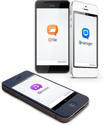 QNAP Access, use and sync with your tablets