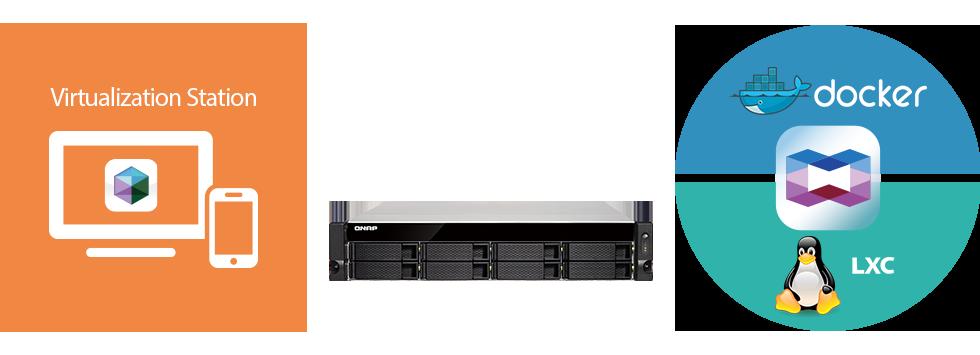 virtualization Container TS 853BU