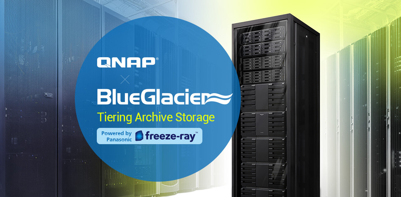 BlueGlacier Tiering Archive Storage | Store cold data and