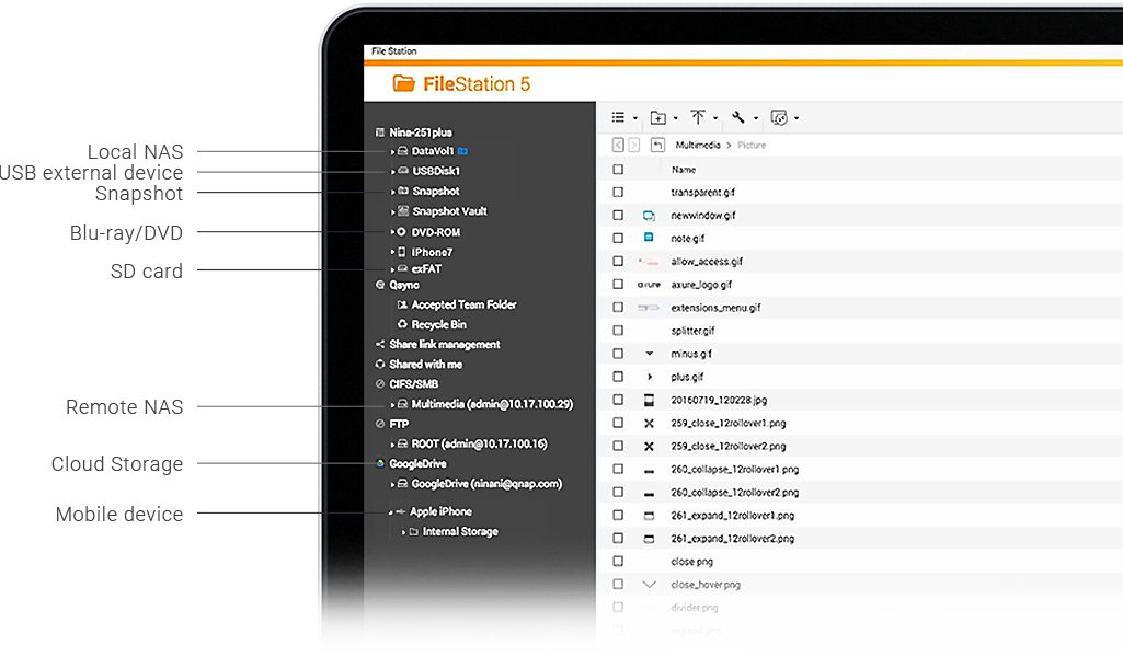 File Management | Easily store, manage, sync and find your