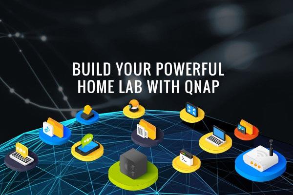 Home Lab | NAS for studio data storage | QNAP