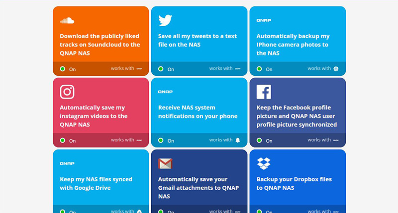 IFTTT | If This Then That - web automation service | QNAP