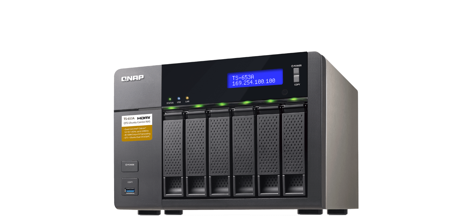 QNAP QTS säkerhetsuppdatering
