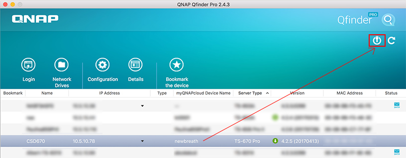How to use the Wake-On-LAN feature by Qfinder Pro? | QNAP