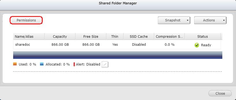 Advanced Folder Permissions in QES | QNAP (US)