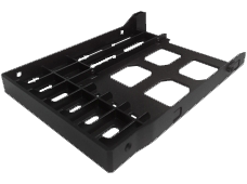 2.5-inch HDD/SSD drive tray base: TRAY-25-NK-BLK03