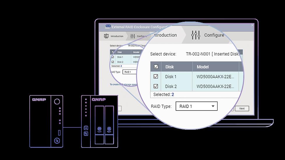 TR-002 - Features | QNAP